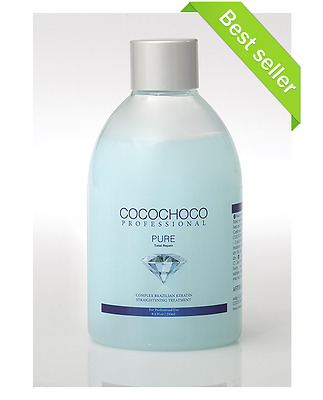 COCOCHOCO Pure - Brazilian Keratin Hair Treatment 250ml - For Blond  thin hair