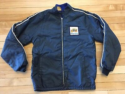 VTG General Motors Fisher Body Plant Factory Small Lined Jacket GM Car Detroit