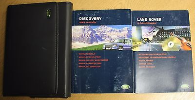 Land Rover Discovery 2 Handbook Owners Manual Wallet 2002-2004 Pack 13216