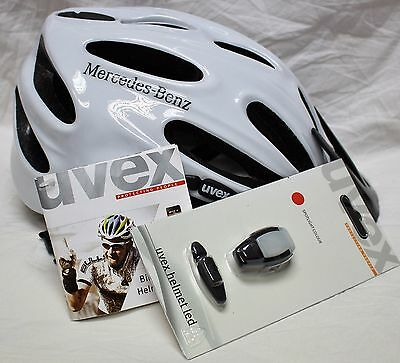 New Genuine Mercedes Benz Collection Led Bicycle Helm Bike Helmet Cycle Unisex