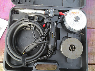 HOBART Spoolrunner 100 spool gun with case and extra spool great condition