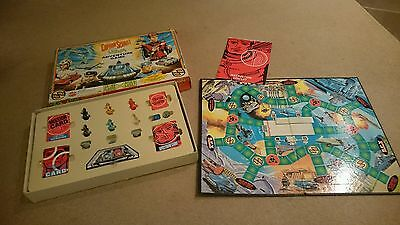 Vintage Captain Scarlet and the Mysterons Adventure Game Board Game