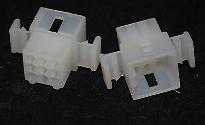 5 off  (5 pieces) 9 Way  crimp housing  3 x 3 see 03-06-2091   (2102)
