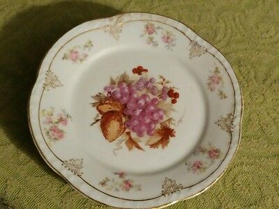 Antique Bavaria China plate made circa 1900 See pics. Of makers marks and other