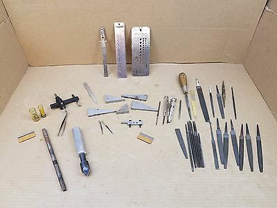 Nice Large Assorted Lot Of Miscellaneous Tools From A Machinist Tool Box (M3)
