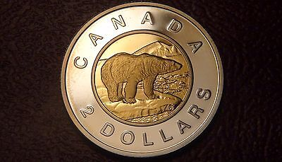 2005 Canada STERLING SILVER PROOF TWO DOLLAR Coin – NICE & RARE $2 Piece!