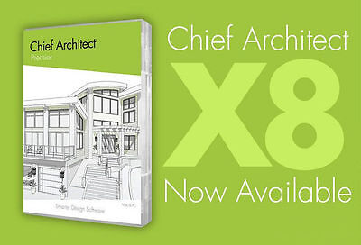 Chief Architect Premier X8 License 3D Modeling, Cad, Site Planning Full Version