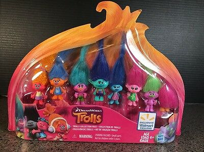 Dreamworks Trolls 2016 MOVIE-8 DOLLS Exclusive Collector's Collection Pack Set