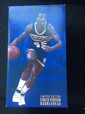 Indiana Pacers Chuck Person BOBBLEHEAD 1-7-17 New In box 2016
