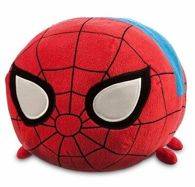 "Authentic US Disney Store Marvel Spiderman Large 18"" Tsum Tsum Plush NWT!!"