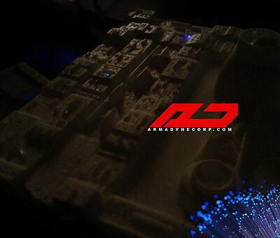 STAR WARS FAN made DEATH STAR surface trench TILES resin model diorama KIT