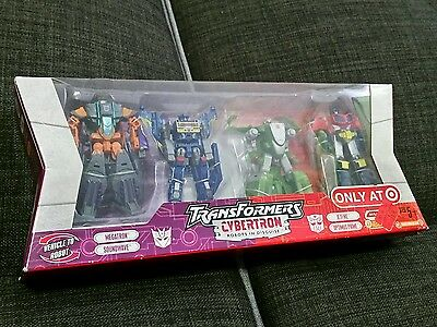 Transformers Cybertron Legends Megatron  Soundwave Target Exclusive Set MISB G1
