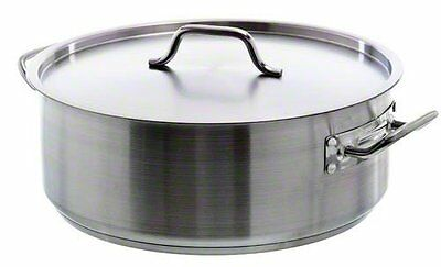 Update International SBR-20 20 Qt Stainless Steel Brazier w/Cover