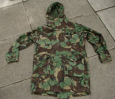 British Army Falklands War Issue DPM Cold Weather Windproof Parka w/ Free Liner