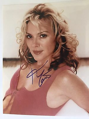 GENUINE HAND SIGNED 8x10 KIM CATRALL 'SEX  IN THE CITY' PORTRAIT PHOTO