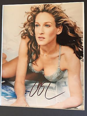GENUINE HAND SIGNED 8x10 SARAH JESSICA PARKER 'SEX IN THE CITY' PORTRAIT PHOTO