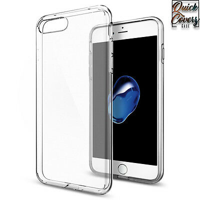 CLEAR THIN PLASTIC SILICONE TPU RUBBER CASE COVER FOR iPHONE 4 5 6 6s 7 plus