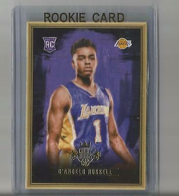 2015-16 Court Kings Rookie Portraits #1 D'Angelo Russell