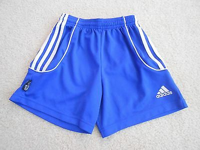 adidas ClimaCool Shorts Blue Athletic Soccer Basketball Youth Size Small