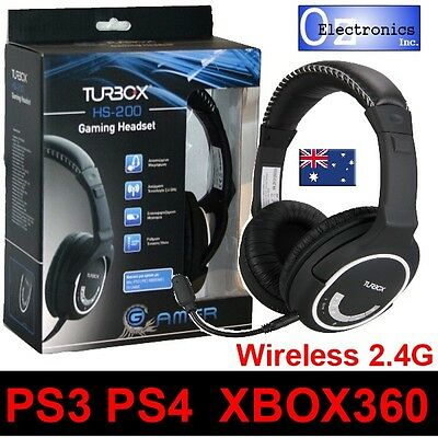 Wireless Gaming Headset Universal - PS4, PS3, XBOX 360 - Headphones & Mic USED