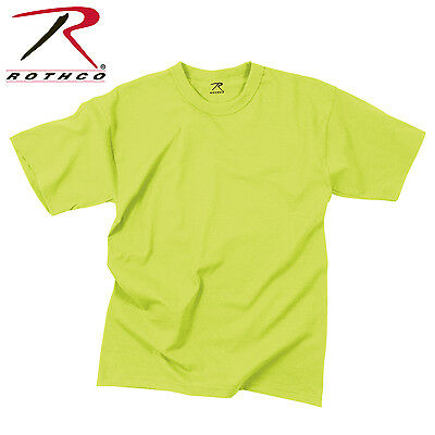 Rothco Solid Color Poly/Cotton Military T-Shirt - 6979