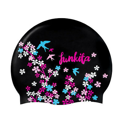 NEW Funkita Silicone Swimming Cap - Black Forest from Ezi Sports Store