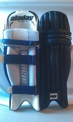 Coloured Navy Blue Cricket Batting Pads Leg Guards
