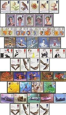 GB Stamps 1998 Years' 10 Commemorative sets F/Used (47 stamps)