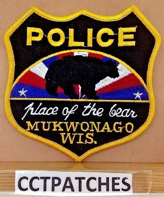 Mukwonago, Wisconsin Police Shoulder Patch Wi