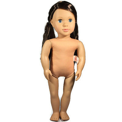"""Our Generation Battat 2002 18"""" Dolls Nude with Pigtails"""