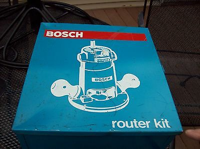 Vintage Bosch Router With Storage Box - Model 1602