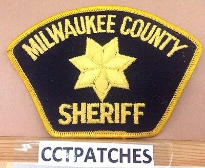 Milwaukee County, Wisconsin Sheriff Shoulder Patch