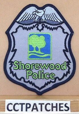 Shorewood, Wisconsin Police Shoulder Patch Wi