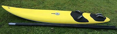 "Saxo ""Full Ride"" Wind Surfer Board and Mast"