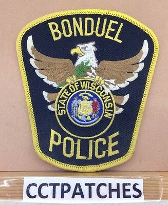 Bonduel, Wisconsin Police Shoulder Patch Wi