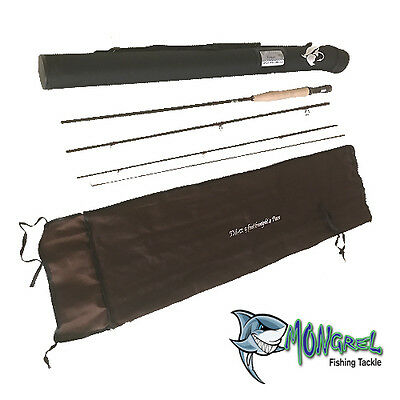 Fly Fishing Rod Rivers Run Series High Quality 6WT 9 foot + bag & tube