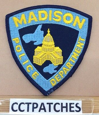 Madison, Wisconsin Police Shoulder Patch Wi