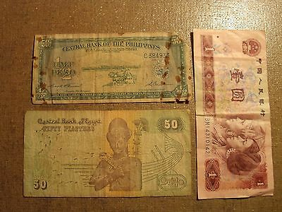 Foreign Money Paper Banknote Collectors Lot #40