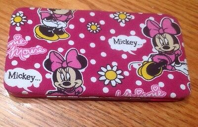 Hard Case Minnie Mouse Wallet
