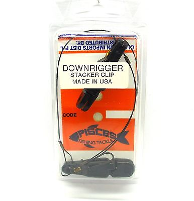 Pisces Downrigger Stacker Clip Brand New