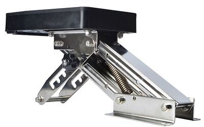 Outboard Motor Bracket Kicker for Boat up to 25HP Auxilary Trolling Mount-AM