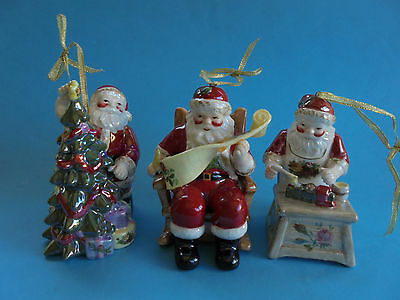 Royal Albert Old Country Roses Christmas Tree Decorations Original Box