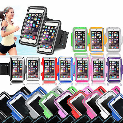For iPhone 7 or 7 Plus Running Sports Gym Jogging Armband Arm Holder Case Cover