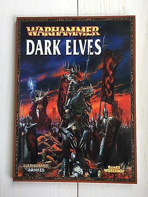 Warhammer Army Book - Dark Elves (2008)