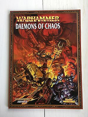 Warhammer Army Book - Daemons of Chaos (2007)