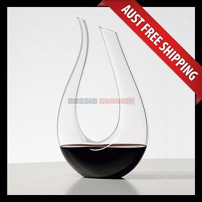 Amadeus Wine Decanter, Brand New Crystal Red Wine Decanter, Aussie Station