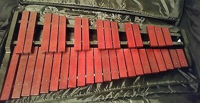 Stagg XYLO-SET 37 Key Xylophone Complete With Mallets, Stand, and Gig Bag
