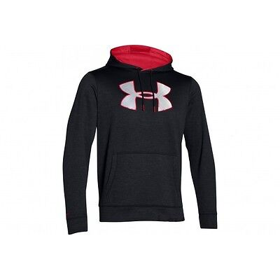 Sweat à capuche Under Armour Big Logo Twist Noir pour homme taille - XL