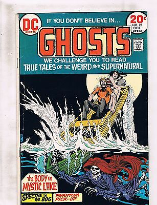Lot Of 3 Ghosts DC Comic Books # 19 20 21 Horror Fear Scary Suspense FN J147