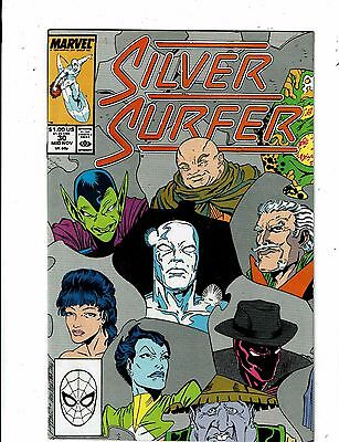 Lot of 4 The Silver Surfer Marvel Comic Books #30 31 32 33 Impossible Man WT18